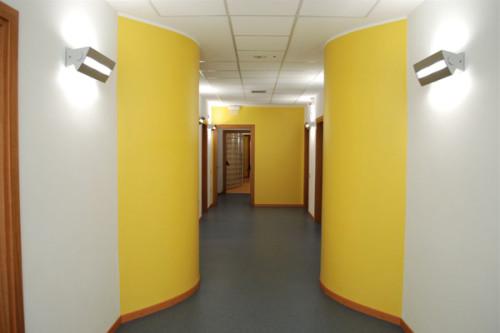 Ristrutturazione II° piano palazzina alloggi per SPES